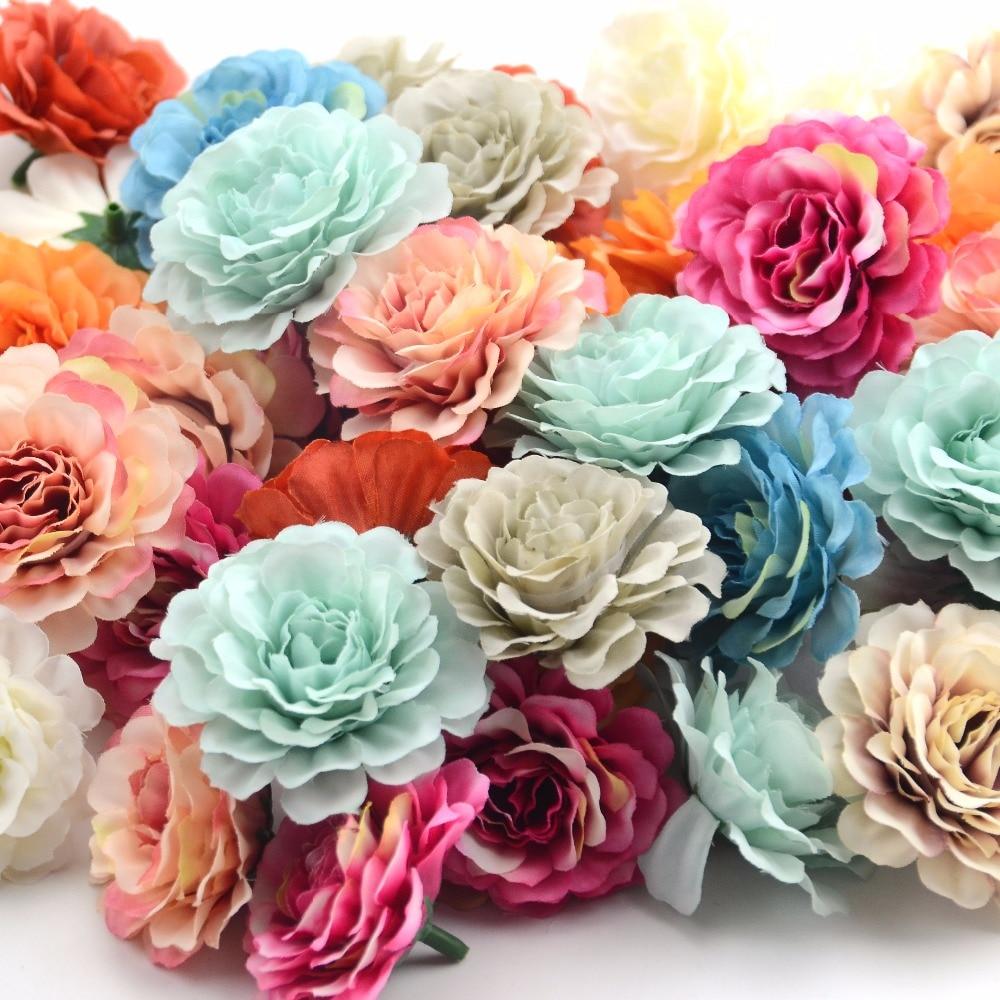 Искусственный цветок, 30 шт., 6 см