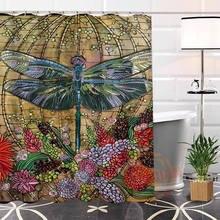 Interesting Dragon Fly Shower Curtain. ShunQian Best Nice Custom Colorful Dragonfly Shower Curtain Bath  Waterproof Fabric Bathroom Popular Buy Cheap
