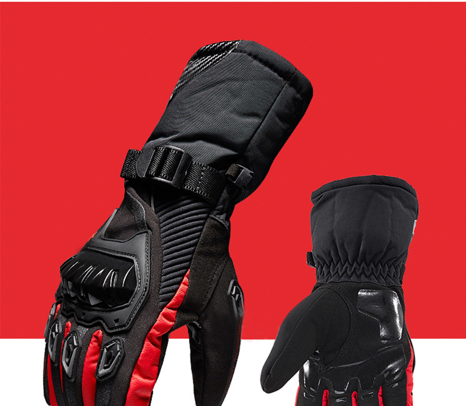 Foxcncar motorcycle gloves 100% Waterproof windproof Winter warm Guantes Moto Luvas Touch Screen Motosiklet Eldiveni Protective (26)