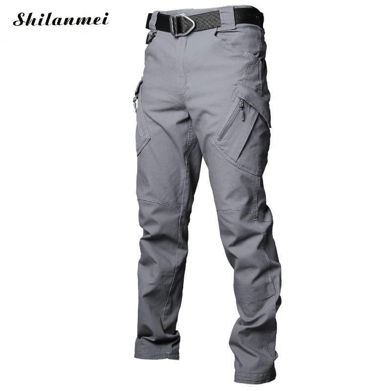 2018 hommes randonnée pantalon Softshell pantalon plein air pantalon homme imperméable montagne Trekking Ski Sport pantalon S-XXXL grande taille - 2