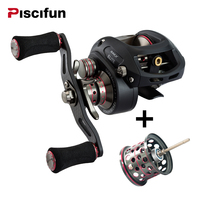Piscifun SAEX ELITE Baitcasting Fishing Reel Extra LightwSpool Right Left Hand 13BB 7 3 1 167g