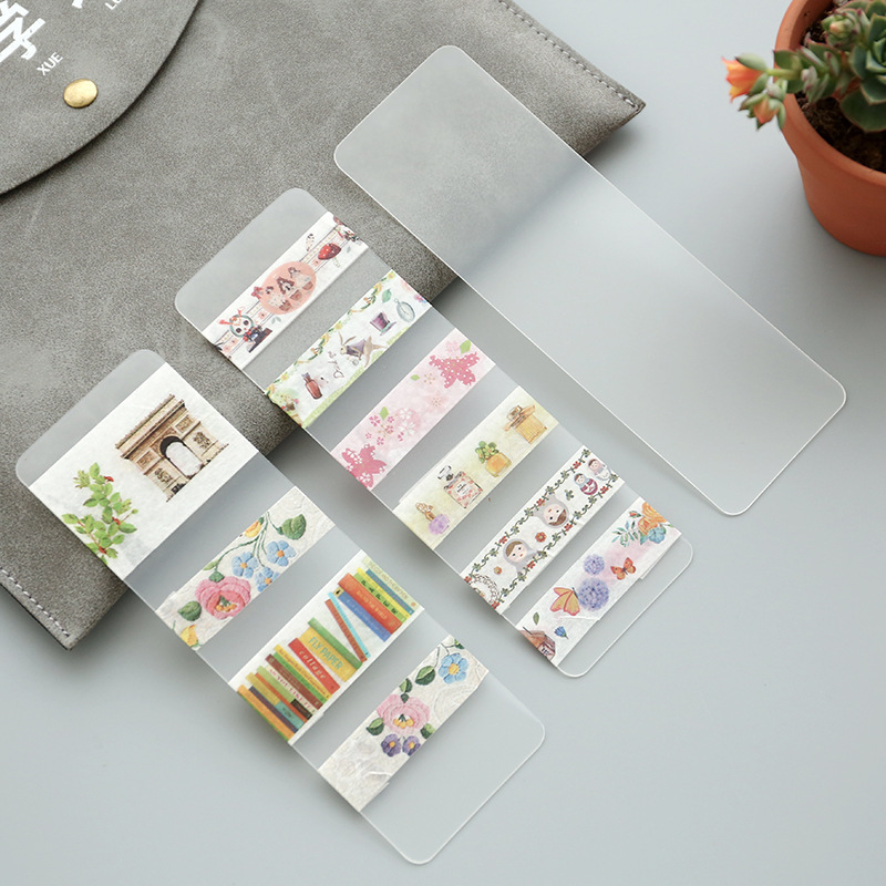 15mm x 5mm Washi Tape Container Bookmark Accessories School Supplies Stationery15mm x 5mm Washi Tape Container Bookmark Accessories School Supplies Stationery