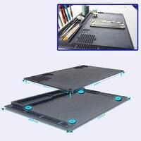 2 IN 1 Anti static Soldering Mat ESD Heat resistant Insulation Pad for iPhone Samsung Repair Tools BGA Soldering Rework Station
