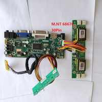 kit for LM190E08-TLL3 Controller board VGA DVI LVDS 4 lamps HDMI Driver 30pin Screen Panel M.NT68676 DIY 19