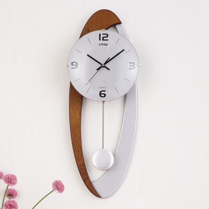 Grote wandklok Saat Reloj klok Duvar Saati digitale wandklokken - Huisdecoratie - Foto 1