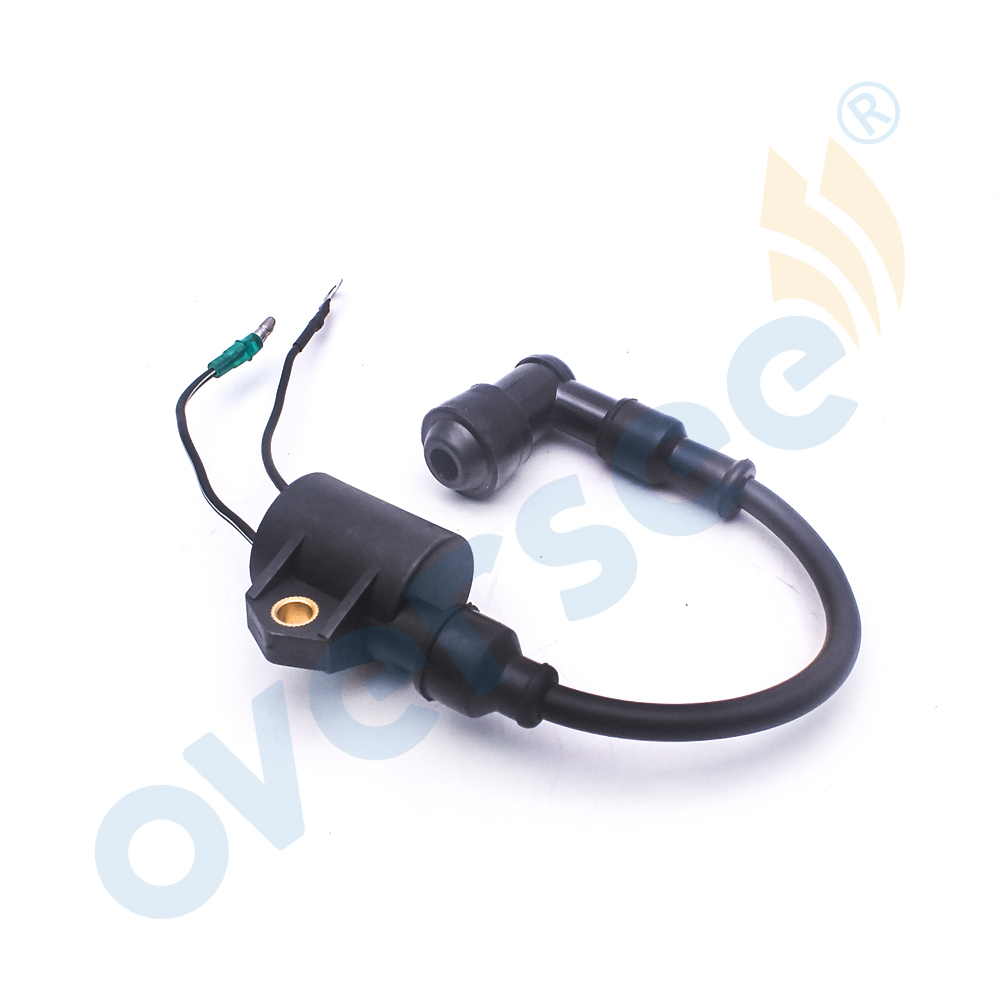 Ignition Coil For Yamaha Outboard 6H5-85570-00 40HP 50HP 2stroke 3Cylinder 6H5-85570