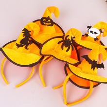 funny witch bat spider pumpkin headband child gift adult theme party headwear halloween carnival decoration hair - Popular Halloween Themes