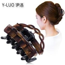 Женские головные уборы Милая заколка для волос для девочек ретро Когти для волос винтажные аксессуары для волос для женщин