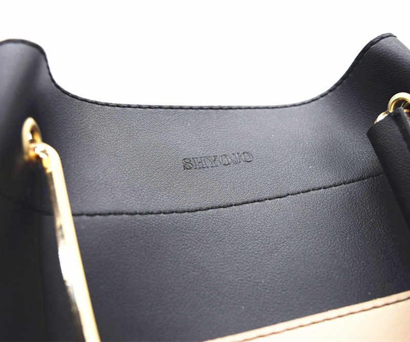 Thương Hiệu nổi tiếng 2 CÁI Set Phụ Nữ Composite Túi Messenger Bee Kim Cương Panelled Da Túi Xách Nữ Shoulder Bags Top-xử lý Bolsas