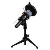 Professional Handheld Dynamic Vocal Wired Microphone Pop Filter Shock Mount Windscreen Mic Stand For Beta58A Karaoke Studio PC