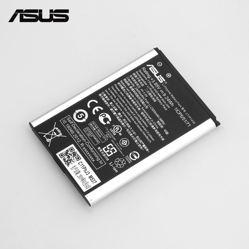 "Image 5 - ASUS Original Replacement Phone Battery C11P1428 2400mAh for Asus ZenFone 2 Laser ZE500KL ZE500KG Z00ED 5"" Free Tools-in Mobile Phone Batteries from Cellphones & Telecommunications"