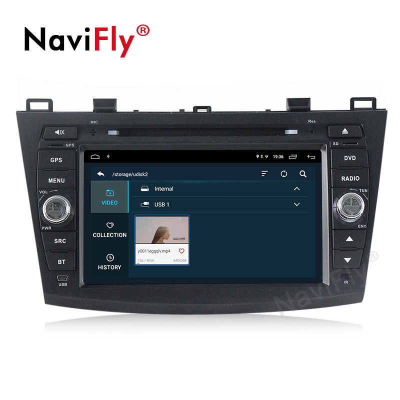 Discount Android 9.1 Car Radio Multimedia for Mazda 3 Mazda 3 maxx Axela 2010-2013 2din car dvd gps navigation player headunit 3