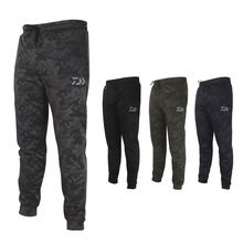 Men Anti-UV Camo Fishing Pants Sunscreen Windproof Trousers Quick-drying Breathable Outdoor Sports