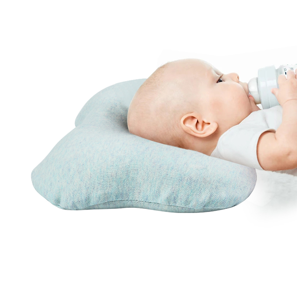 Baby Pillow Infant Toddler Sleep Positioner Anti Roll
