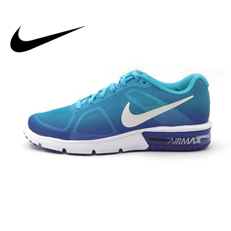 Nouveauté originale NIKE AIR MAX SEQUENT chaussures de course pour femmes marche à lacets amorti baskets confortables femmes 719916