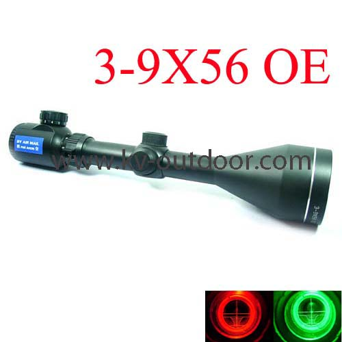 3-9X56AOE Air Rifle Gun Scope (MR43) Top airsoft Hunting Rifle Scope with Tactical 11mm/20mm rail riflescope fit Weapons new tactical g36 3 5x scope w top 20mm picatinny rail carry handle