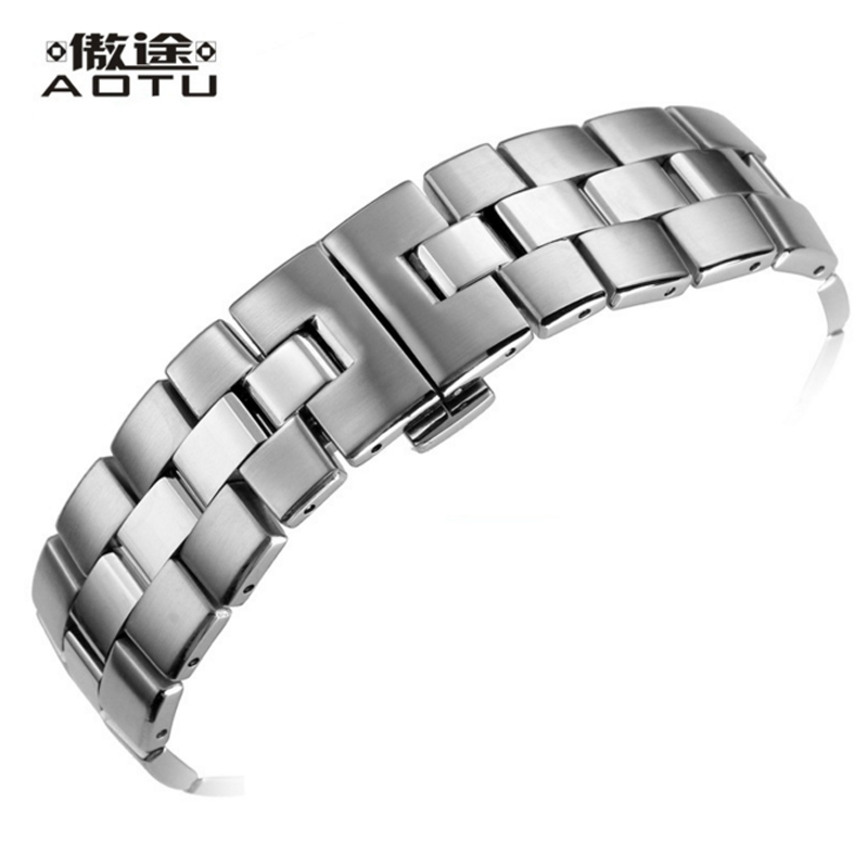 Stainless Steel Watchbands For Tissot 1853 T076 417 Men 21MM Watch Straps Sport Bracelet Belt Metal Watch Band For Men Straps tissot t055 417 11 057 01