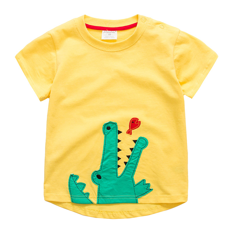 Jumpingbaby 2019 Kids Clothes T-shirt Boys T-shirt Camiseta Dinossauro Costume For Baby Roupas Infantis Menino Chid T-shirts