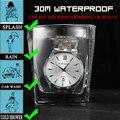 Amuda Homens Marca de Luxo Relógio de Quartzo Homens relógios de Pulso Banda de Liga de Prata Negócio Relógios relogio masculino mujer