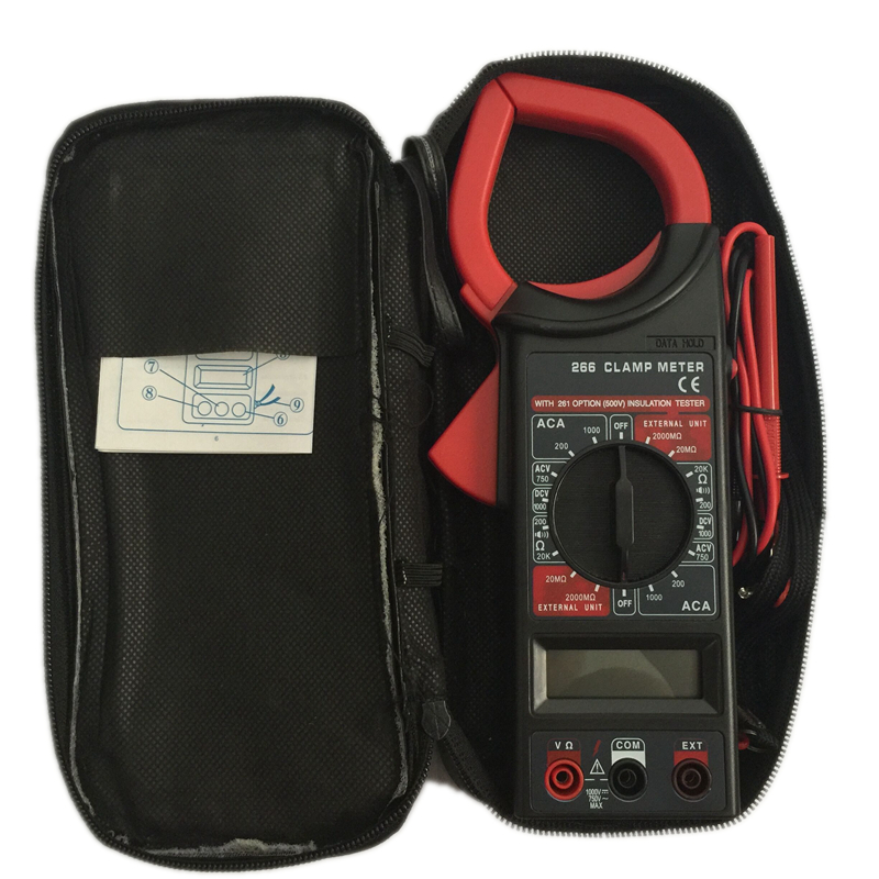 Clamp Meter Brands : Brand dt ac dc digital clamp multimeter electronic volt