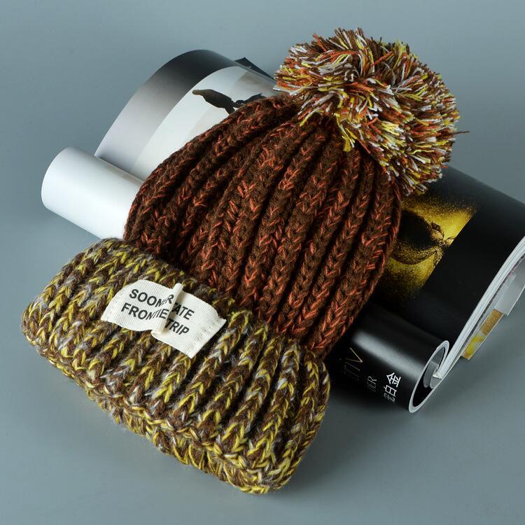 قبعة صوف دافئة نسائية 7