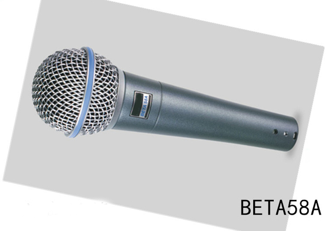 Super Cardioid Microphone Dynamic Vocal Wired Microphone Professional Beta58A Beta 58A 58 A Mic For Karaoke Microfono Microfone