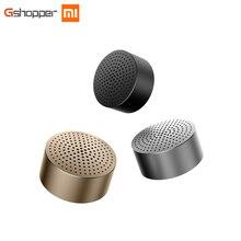 Xiao Mi Ми Bluetooth Динамик стерео Портативный Беспроводной Колонки мини Mp3 плеер Динамик звонки Hands-Free 100% оригинал