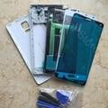 Для Samsung Galaxy Note 4 N910 N910F N910A Оригинальный Телефон Полный Крышку Корпуса Ближний Рамка Батареи Сенсорный Экран Стекла