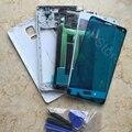 Para samsung galaxy note 4 n910 n910f n910a telefone original completa housing cover oriente quadro bateria vidro da tela de toque