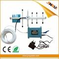 Conjunto completo Repetidor Celular 850 CDMA Teléfono Celular Amplificador de Señal señal Booster Amplificador GSM 850 Repetidor de Telecomunicaciones CDMA 850 con lcd