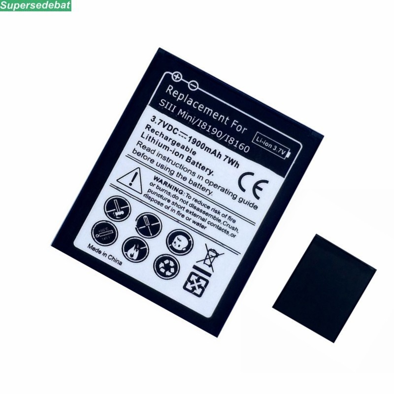 EB-L1M7FLU EB 425161LU Mobile Phone <font><b>Battery</b></font> for Samsung Galaxy S3 Mini S3Mini <font><b>i8190</b></font> i8160 i699 Replace <font><b>Batteries</b></font> Accumulator image