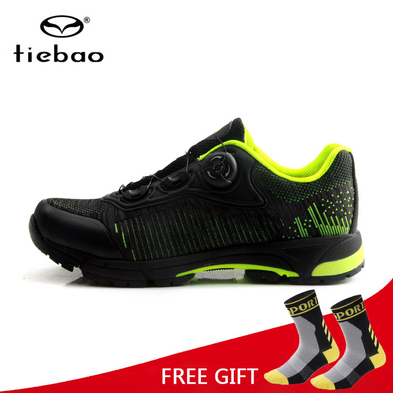 Tiebao MTB Leisure Cycling Shoes Bike Racing Shoes Athletic Self-Locking Sneakers Bicycle Breathable Shoes Zapatillas CiclismoTiebao MTB Leisure Cycling Shoes Bike Racing Shoes Athletic Self-Locking Sneakers Bicycle Breathable Shoes Zapatillas Ciclismo
