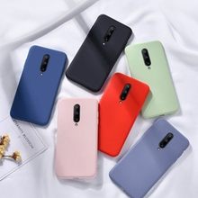 Original Liquid Silicone Couple Phone Case For Oneplus 7 Pro Luxury Coque One Plus 7 Bumper Oneplus7 Oneplus7pro Protection Case