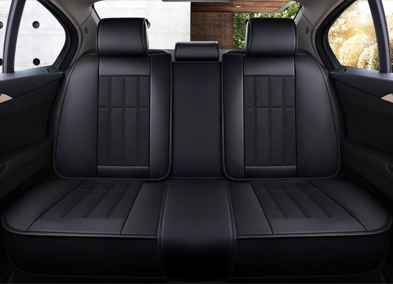 CarCoo Waterproof 2 Pack Car Kick Mats Back Seat Protector Universal Fit