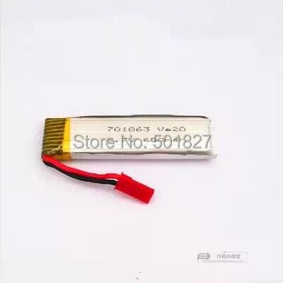 YUKALA V959 V969 V979 V989 V999 V929 U941 U818A 2.4G 4 canaux RC quadrirotor 3.7 V 600 Mah li-polymère batterie