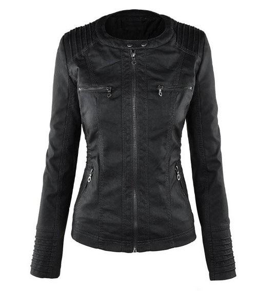 Riverdale Southside Riverdale Serpents black Brown PU Leather Jacket Women Riverdale Serpents Streetwear Leather Brand Coat 20