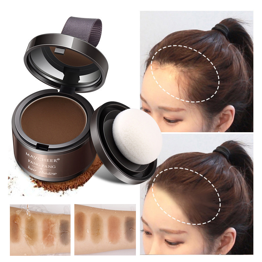 Concealer Shadow-Powder Hair-Line Coverage Natural Instantly Black Full-Hair MAYCHEER