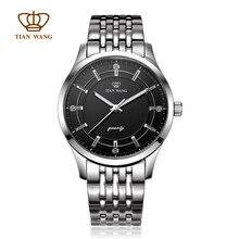 Полный 316L качество мужская мода кварцевые часы для бизнеса связи GS3796