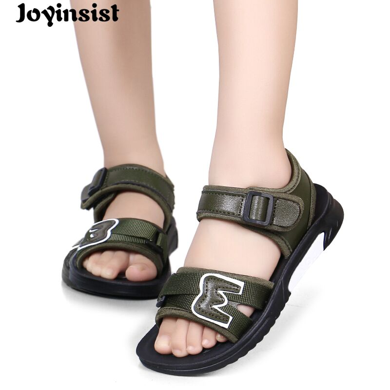 Childrens shoes 2018 summer new childrens sandals boys fashion shoes school childrens shoes beach shoes