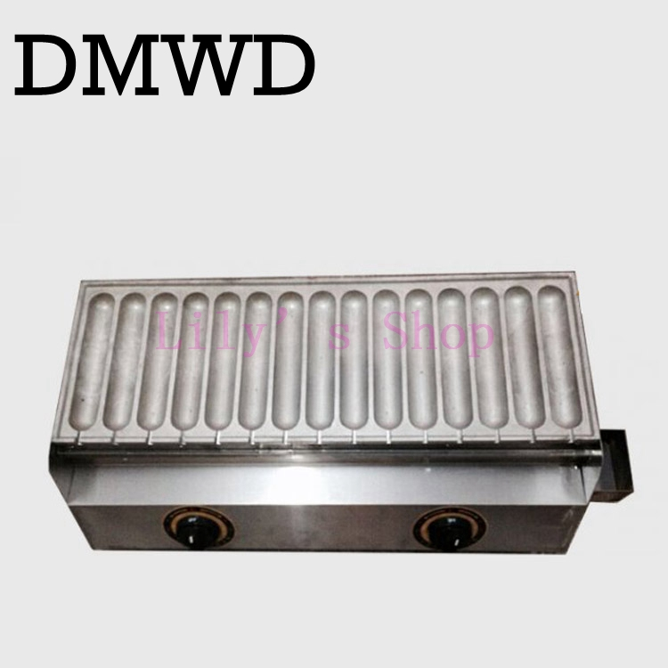 Commercial Use gas corn hot dog waffle machine waffle stick for 15 pcs EU US adapter plug Stainless Steel Holder Stand Baker commercial use gas triangle wheat cake baker