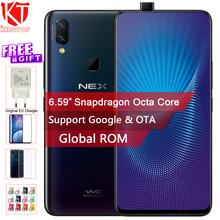 "Original Vivo NEX Mobile Phone 6GB/8GB RAM 128GB ROM Octa Core 6.59"" Fingerprint Unlock Auto-elevated Camera 4000mAh Cellphone"