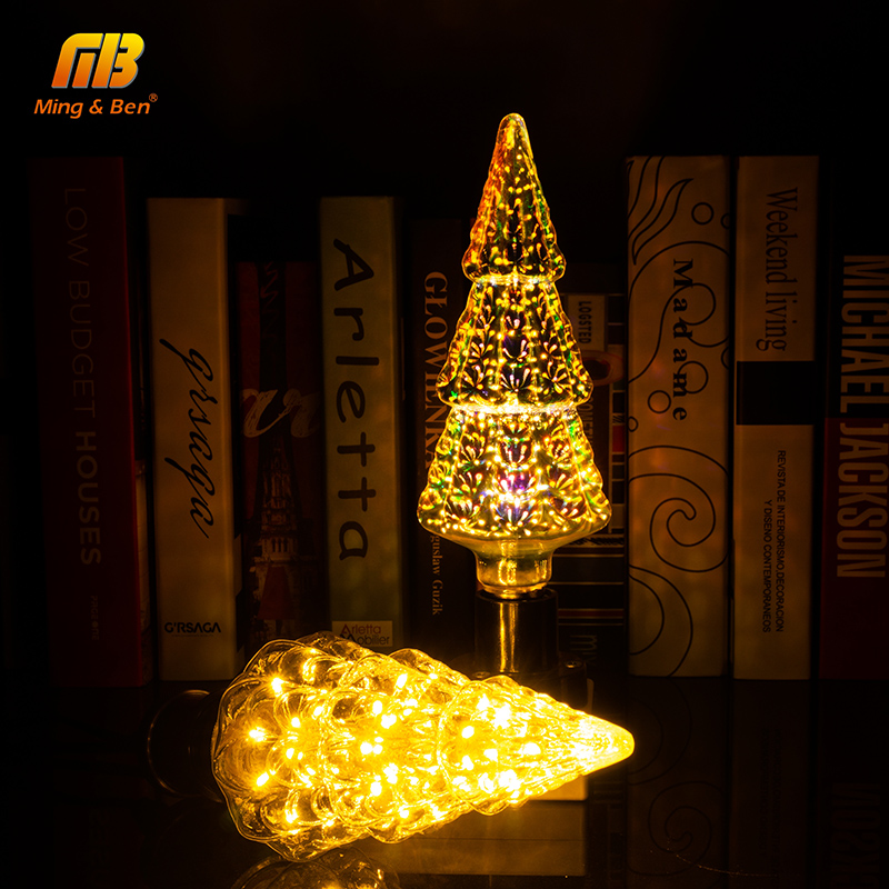 Mingben Led Christmas Tree Light Decoration Bulb Ac85 265v E27 Star Holiday Novelty Xmas Lamp Lamparas Rbg Warm White Green In Bulbs S From