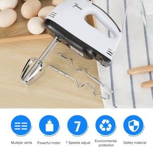 Image 5 - ANIMORE Manual Mini Blender 7 Speed Dough Hand Mixer Food Blender Multifunctional Food Processor Electric Kitchen Mixer FM 02