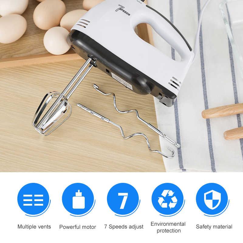 Animore manual mini liquidificador 7 velocidade massa misturador de mão liquidificador multifuncional processador alimentos misturador da cozinha elétrica FM-02