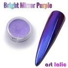 Nail Art Purple Merm...