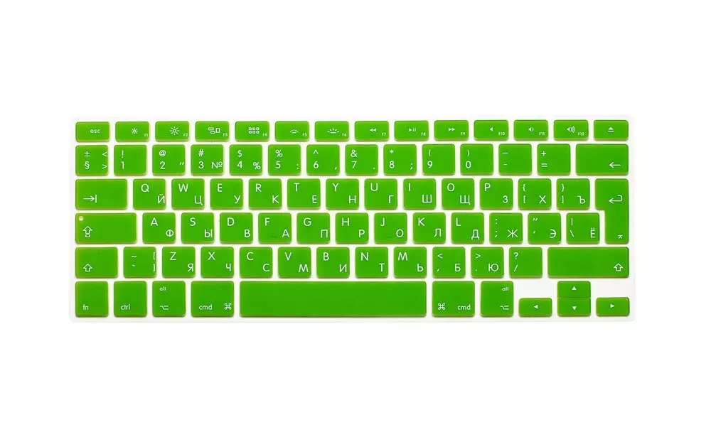 EU US Soft Silicon For Macbook A1466 Keyboard Cover Russian Language Cover For Macbook Retina13 Keyboard Cover (5)