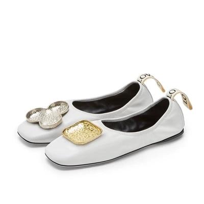 Boucle 2019 Femmes Métal Portant Début 2 En Rétro Chaussures De Plates Simples Printemps Au Nouveau 1 Du oWdxCeQrEB