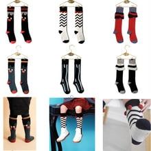 Для мальчиков и девочек дети колено высокие Infantil Menina носки волк Rita  Бренд Симпатичные Модные носки 5da5db3203017