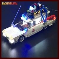 LED Light Up Kit For Blocks Lepin 21008 Ghostbusters Ecto 1 Building Blocks Kids Toys