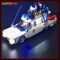 LED Light Up Kit For Blocks Lepin 21008 Ghostbusters Ecto 1 Building Blocks Kids Toys
